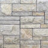 Доломит бело-серый плитка мозаика сложная скала