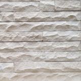 Известняк белый Владимирский плитка скала и полоска скала